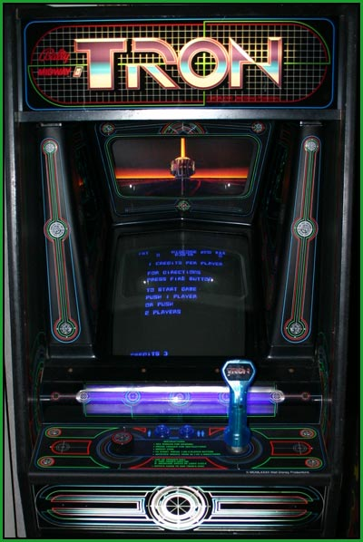 Tron arcade game, Pinball Restoration, Video Games, Video Game ...